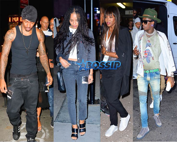Young Thug, Naomi Campbell, Zoe Kravitz Attend Drake/Future Concert | Bossip