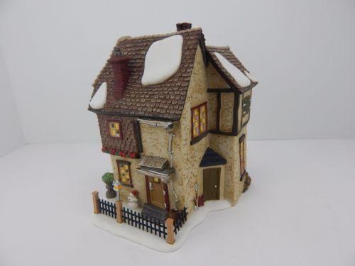 Dept-56-A-Christmas-Carol-Dickens-Village-Belles-House-58512-Has-light-cord