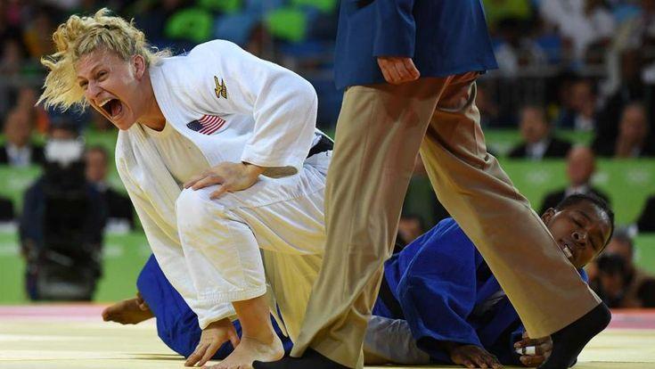 Kayla Harrison at 2016 Olympics