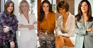 Veja os modelos de anéis que fazem sucesso na televisão - Personagens de Giovanna Antonelli, Claudia Raia, Alice Wegmann e outras artistas exibem diariamente anéis lindos na TV. Confira o tipo de acessório usado por 10 personagens em novelas e séries da Globo!