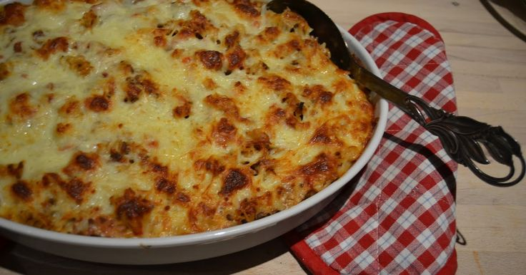 Foto: Sara B. Clausen.   Har her til aften lavet gratineret pasta, det har været her på bloggen før- men det er altså stadig en stor succ...