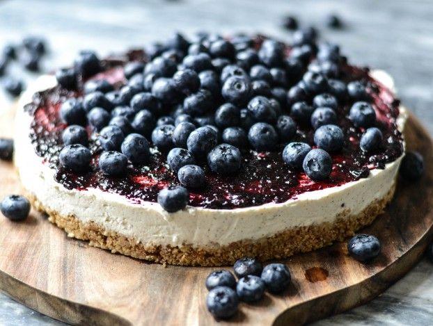 #Icelandic Skyr & Blueberry Cake