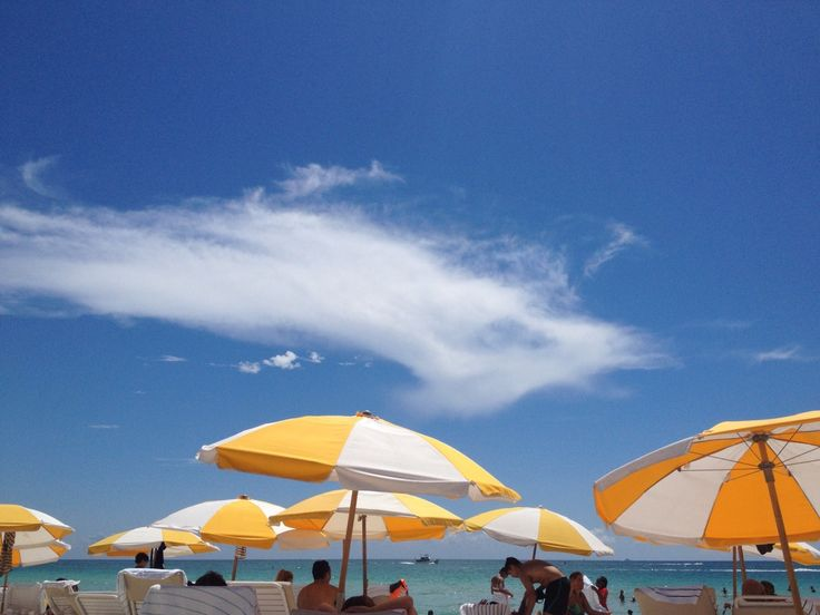 HOLIDAYS (Miami, 2016) #miami #beach #shade #parasol #summer #vacation #photography #photo #pic #iPhone #iPhone4s #iPhonePhotography
