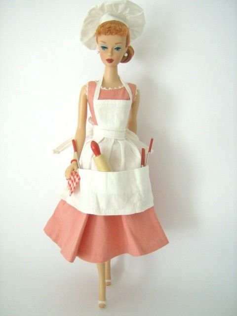 1959 - Barbie's pretty even when she's sweating over a hot stove