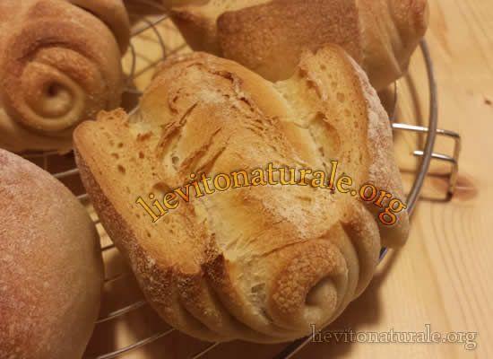 Panini Mantovani sfogliati con Lievito Naturale o Pasta Madre e Farina Macinata a Pietra