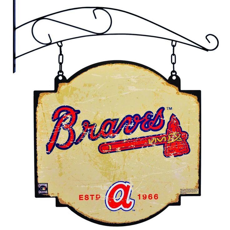 "Atlanta Braves Winning Streak Retro 1972 Tavern Pub Bar Metal Sign (16""x16"")"