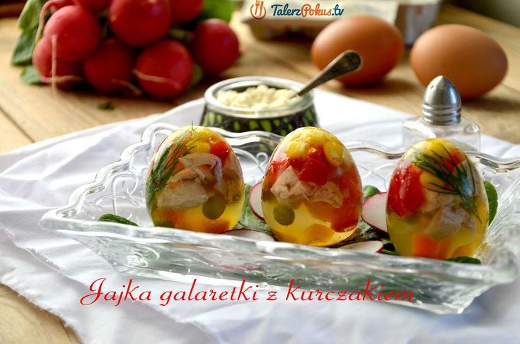 Jajka galaretki z kurczakiem - TalerzPokus.tv