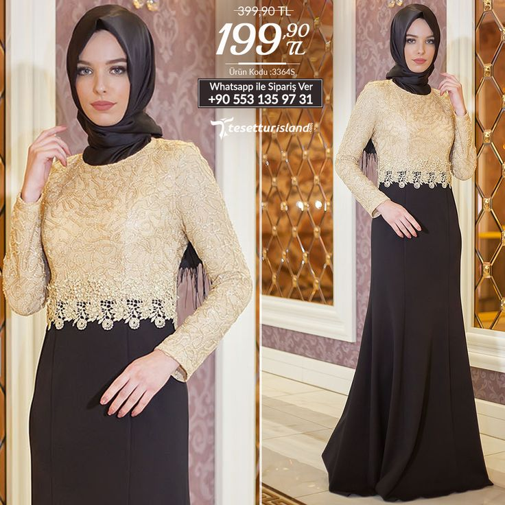 Nayla Collection - Beli Dantelli Siyah Balık Elbise #tesettur #tesetturabiye #tesetturgiyim #tesetturelbise #tesetturabiyeelbise #kapalıgiyim #kapalıabiyemodelleri #şıktesetturabiyeelbise #kışlıkgiyim #tunik #tesetturtunik