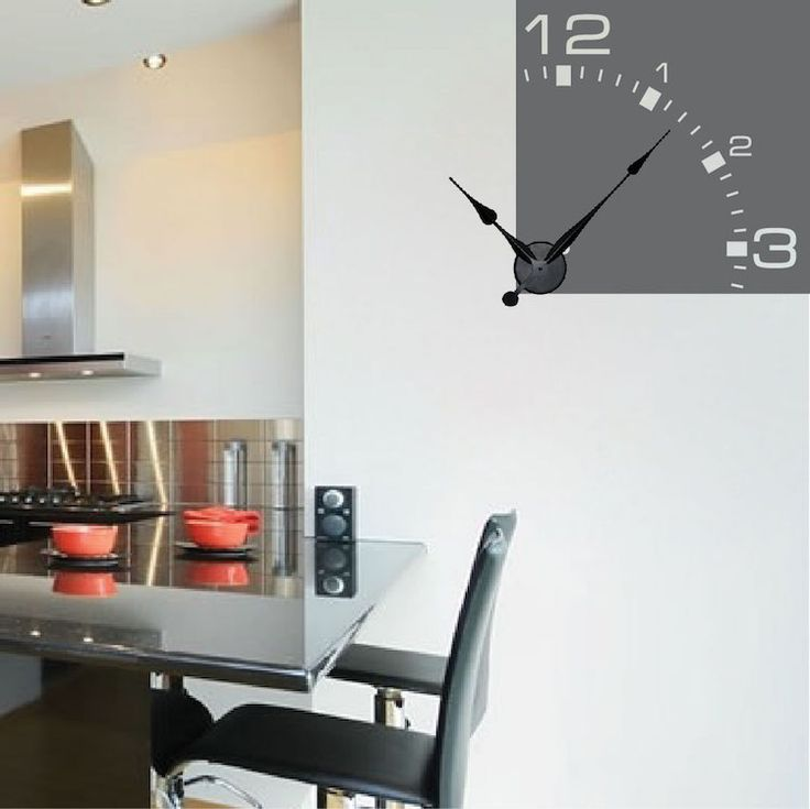 32 best Clock Wall Decals images on Pinterest Clock wall Wall