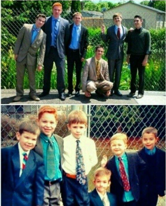 Spiritual boy's turn into spiritual men :)