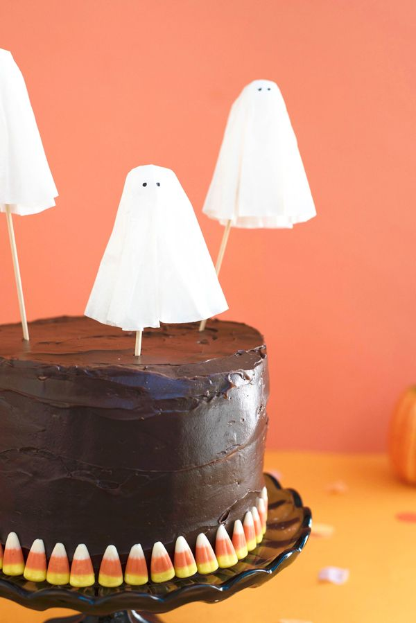 Ghost Cake Toppers Diy Oh Happy Day Diy Cake Topper