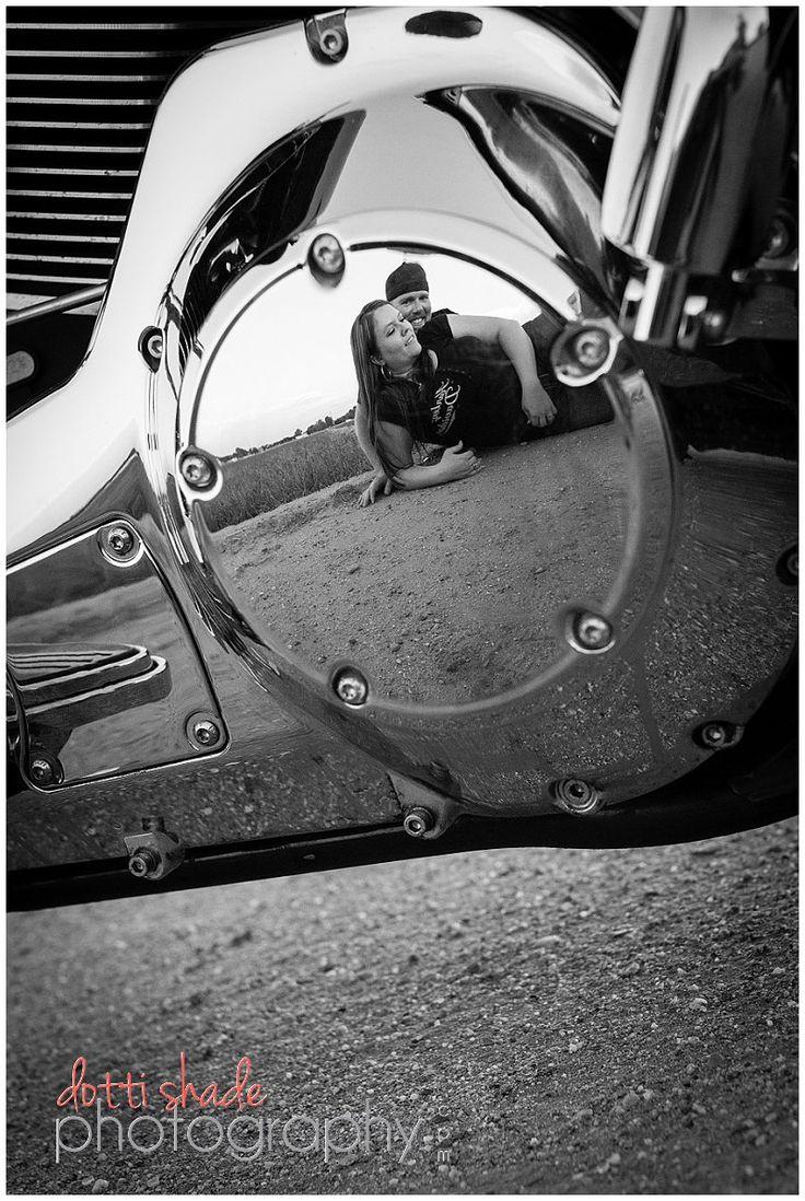 Engagement with Harley Davidson www.dottishadephotography.com {Mesa, AZ} Mesa Photographer