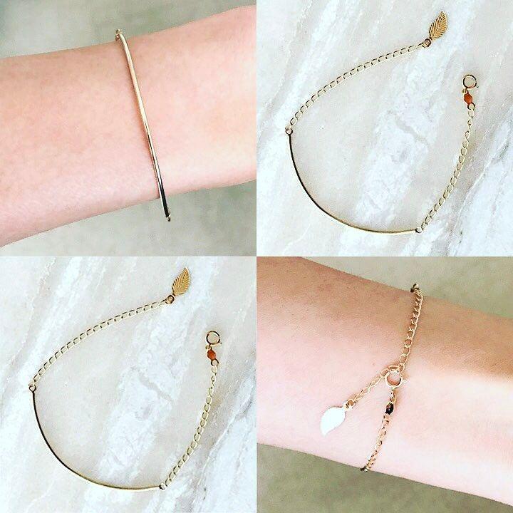 14k Solid Gold hybrid bangle bracelet.
