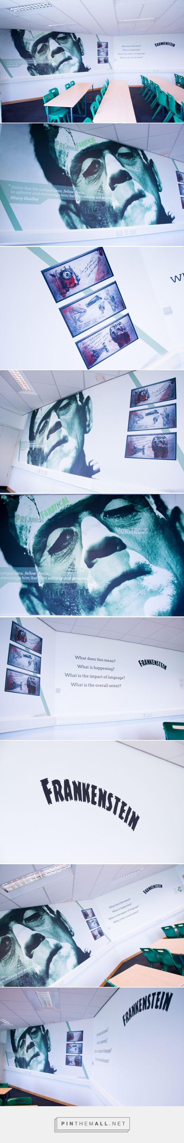 Frankenstein TGAR English Classroom Design on Behance