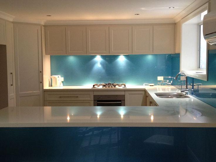 Glass Kitchen Splashback
