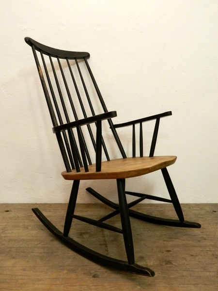50er jahre schaukelstuhl 50s rocking chair by mr an mrs for Schaukelstuhl 50er