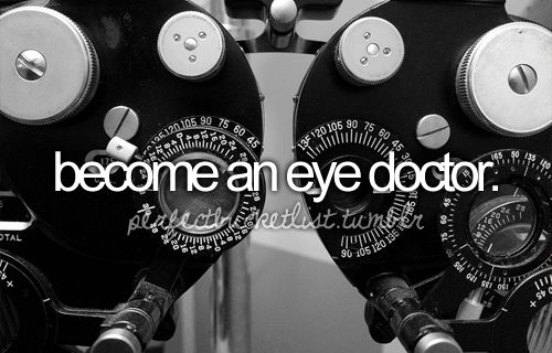 2.5 years left! can't wait to be a practicing Doctor of Optometry!