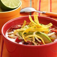 Island's Tortilla Soup Recipe.  Had some today. Forgot how good it is!