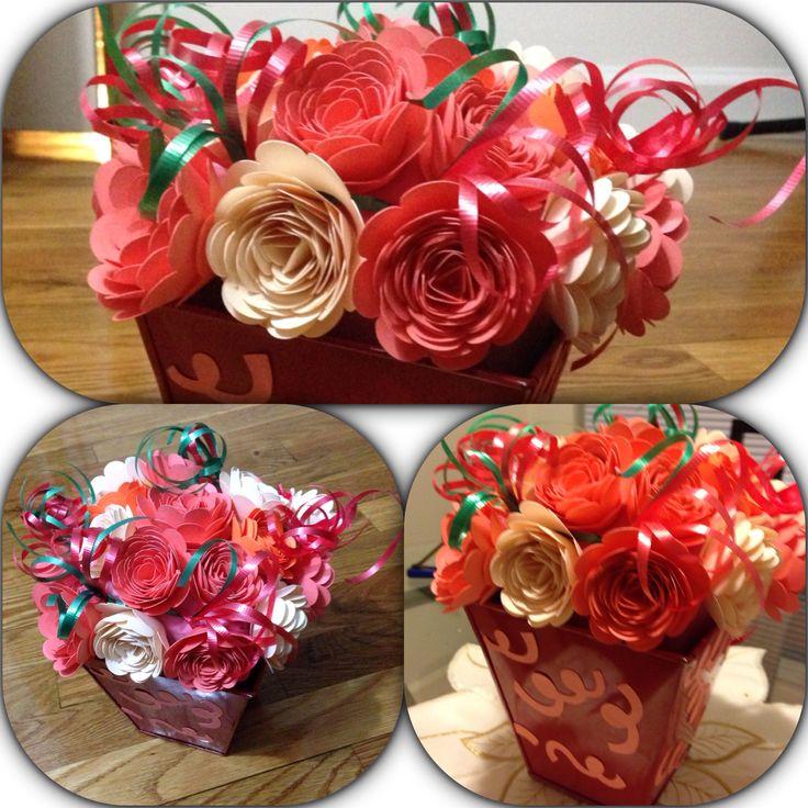 30 Best Images About Cricut Flowers On Pinterest