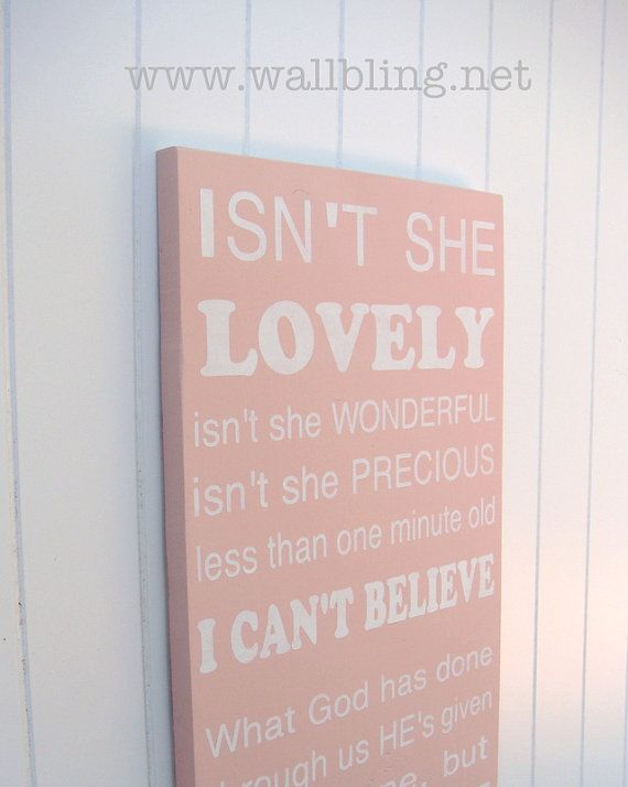Stevie Wonder - Isn't She Lovely...LOVE the song LOVE this even more, this is how I feel about my daughter. I sooooo NEED to get this