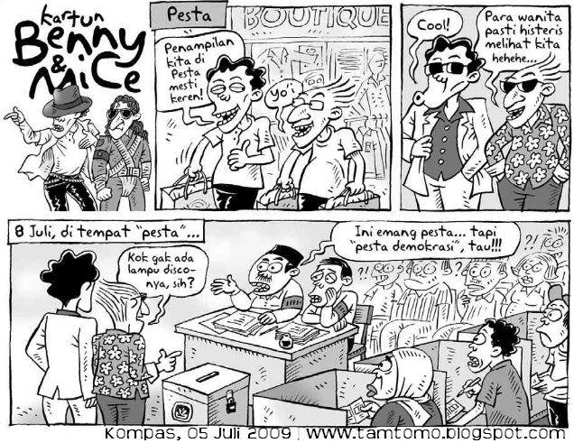 Benny and Mice, Kompas 05.06.2009: Pesta Demokrasi
