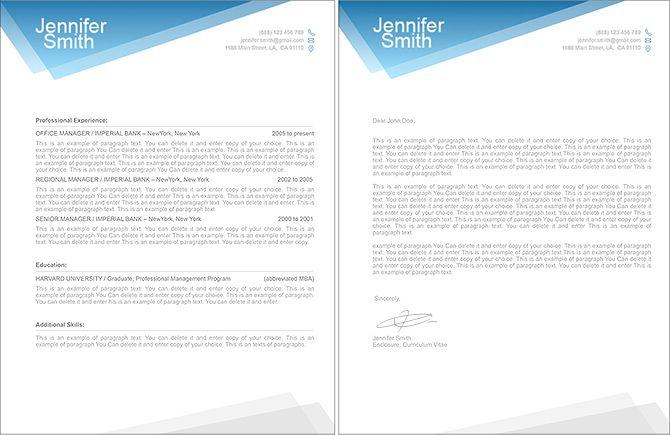 Resumeway Premium Line Of Resume Amp Cover Letter