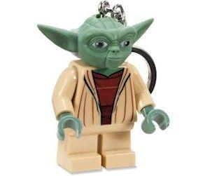 LEGO Yoda keychain with flashlight(09-00408)