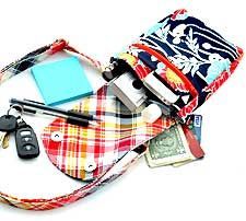 The Zip and Clip Bag Pattern by Around The Bobbin has great organizational potential!