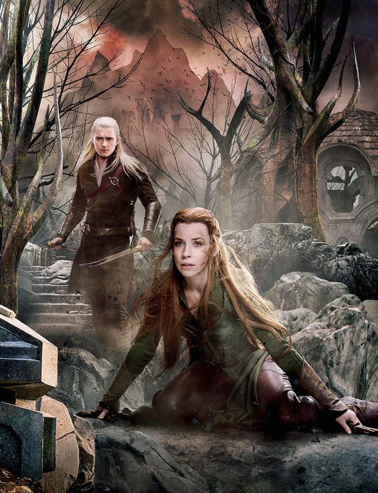 Legolas and Tauriel  The Hobbit cosplay test by