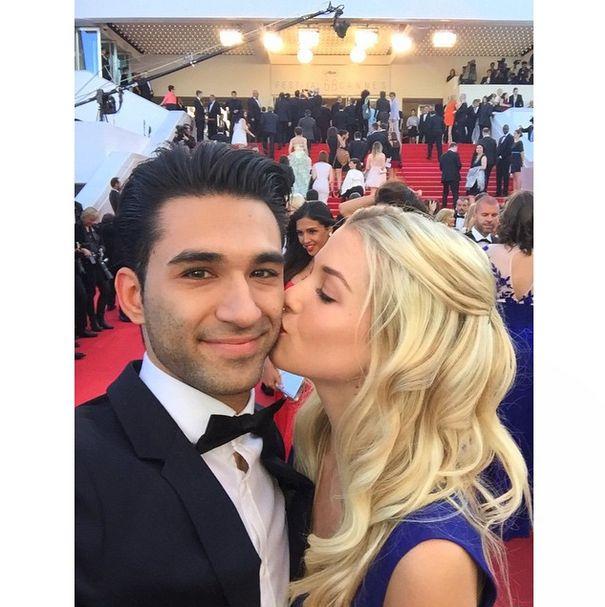 Marie et Anil au festival de Cannes