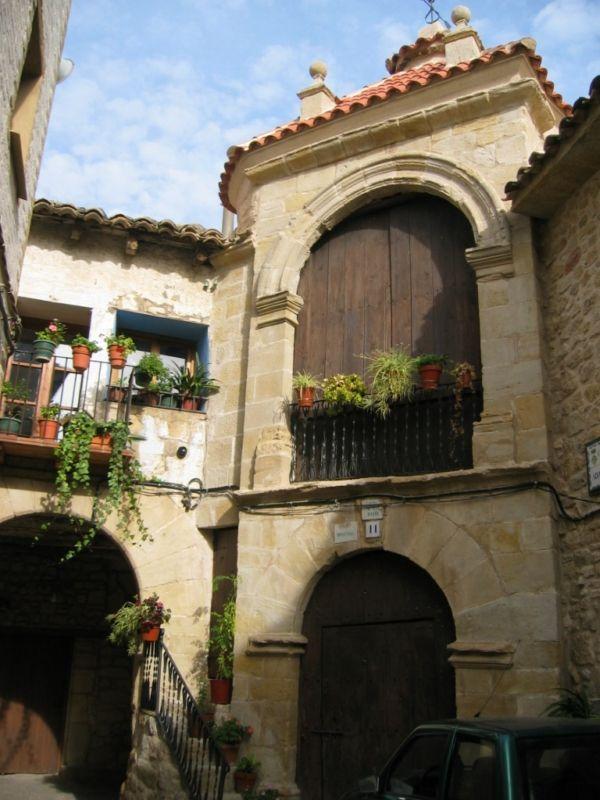 Portal de San Roque en Cretas #Teruel