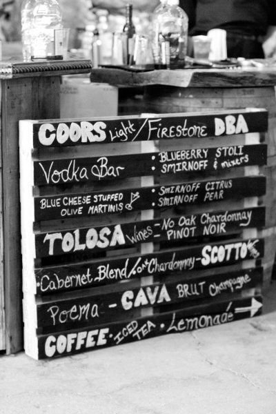 Another pallet idea.. I never thought about using chalkboard paint this way! Love it!!!
