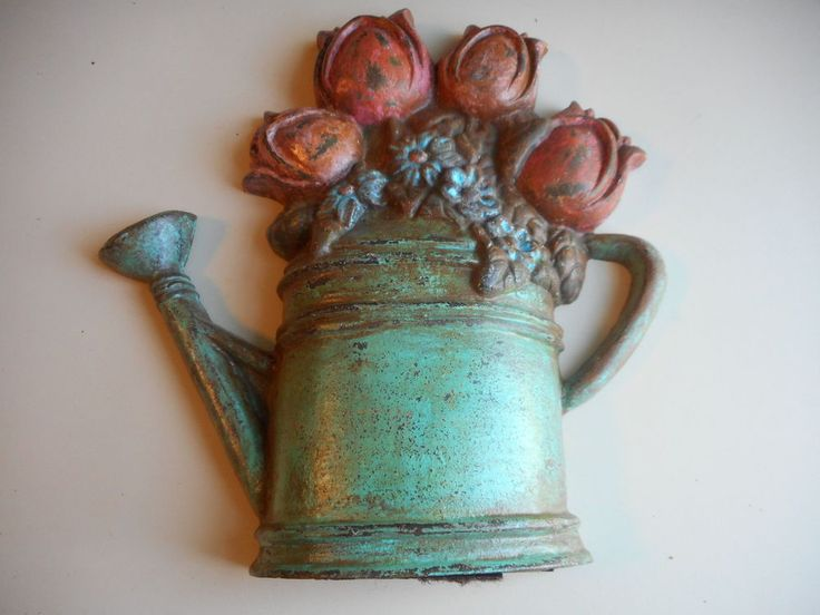 Antique Painted Cast Iron