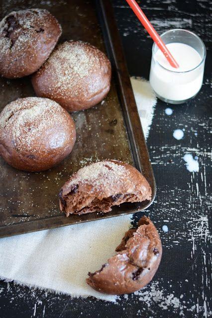 Petits pains moelleux au chocolat de P. Conticini