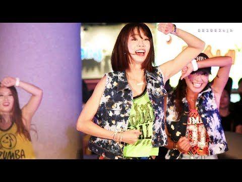 배우 최여진과 ZUMBA 줌바 댄스 [4k직캠] 2017부산바다축제 광안리해수욕장 - YouTube