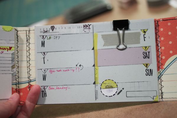 4x6 Booklet Planner Binder #3--- I'd love to make one just to jot down notes and then transfer to a big planner