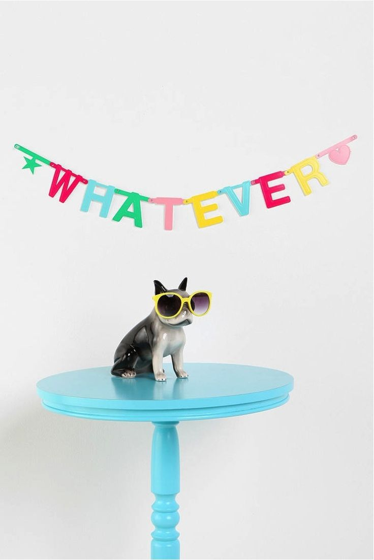 136 best cute funny images on pinterest baby puppies cutest letendre just bought this from urban outfitters for our room its a diy banner with 70 letters 20 and 10 symbols so excited to decorate our room biocorpaavc Gallery