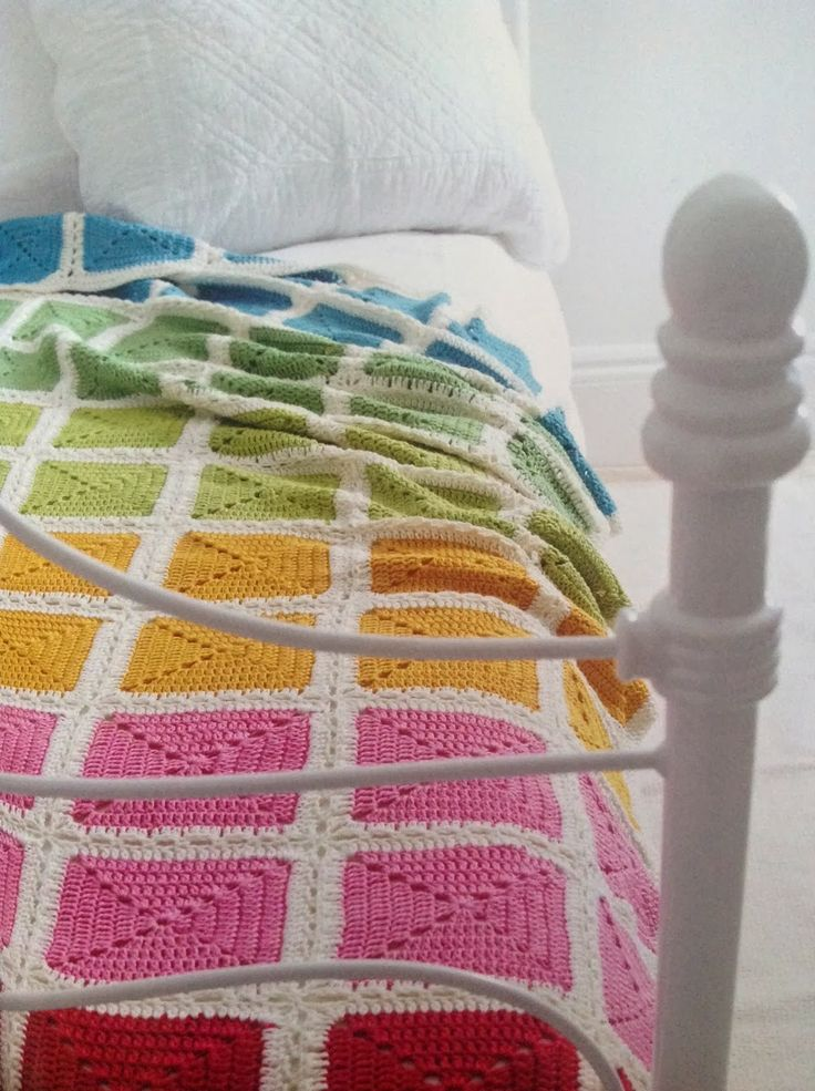 Knitting Granny Square Blanket : Best images about crochet blanket inspiration on