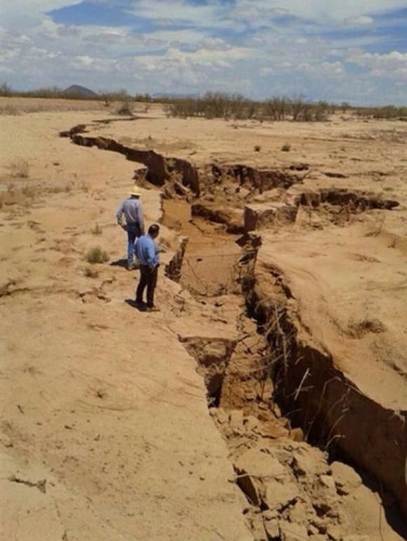 Earth Cracks Open Around The World - Latest In Mexico