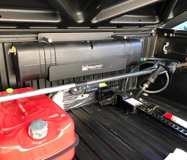 Toyota Tundra Diesel >> WaterPORT, Portable Water Supply, Portable Shower, Vehicle Mounted Shower, Vehicle Water Tank ...
