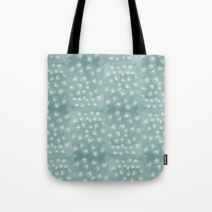 Buy snowy Pohutukawa flakes Tote Bag by emiliegeant. Worldwide shipping available at Society6.com. Just one of millions of high quality products available.