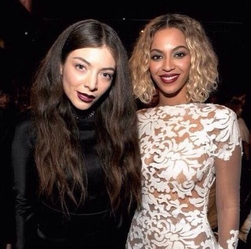 Lorde and Beyoncé- Beautiful cant stand when people say Lorde is unattractive... people get this image that every freaken celebrity has to look like the next Megan Fox