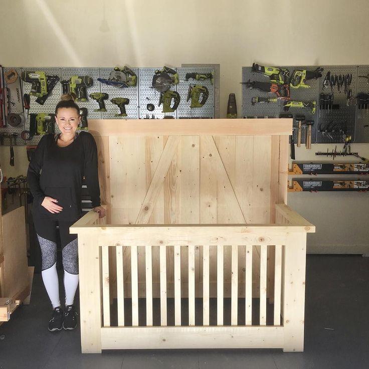 DIY Farmhouse Crib - Shanty 2 Chic