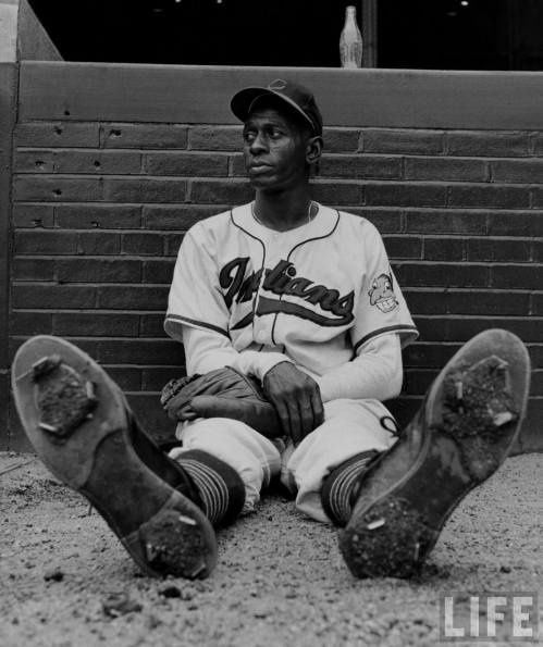 """Just take the ball and throw it where you want to. Throw strikes. Home plate don't move."" -Satchel Paige"