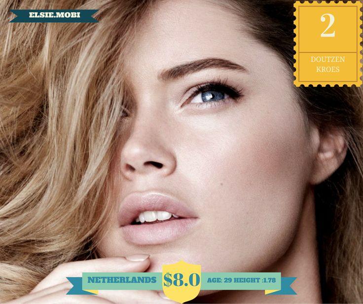 Doutzen Kroes - L'Oreal, Victoria's Secret, H&M, Emilio Pucci, Miu Miu, Calvin Klein
