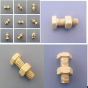 Hot Dip Galvanized Nut Bolts Manufacturers |Suppliers|Exporters in China|CHINA We manufacture and supply a wide range of hot dip galvanized nuts are coated iron or steel, which guarantees a high resistance to corrosion and abrasion. These are available in a variety of technical specifications which can be customized within the time committed to the needs of customers.