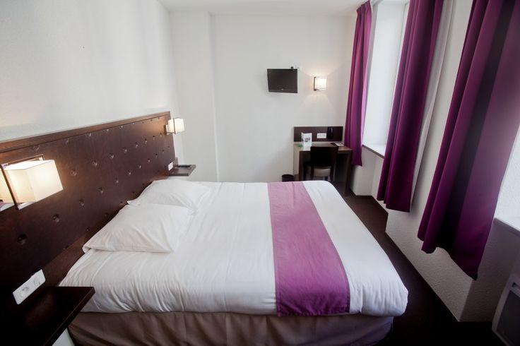 Chambres confort à Cherbourg dans l'hôtel Ambassadeur