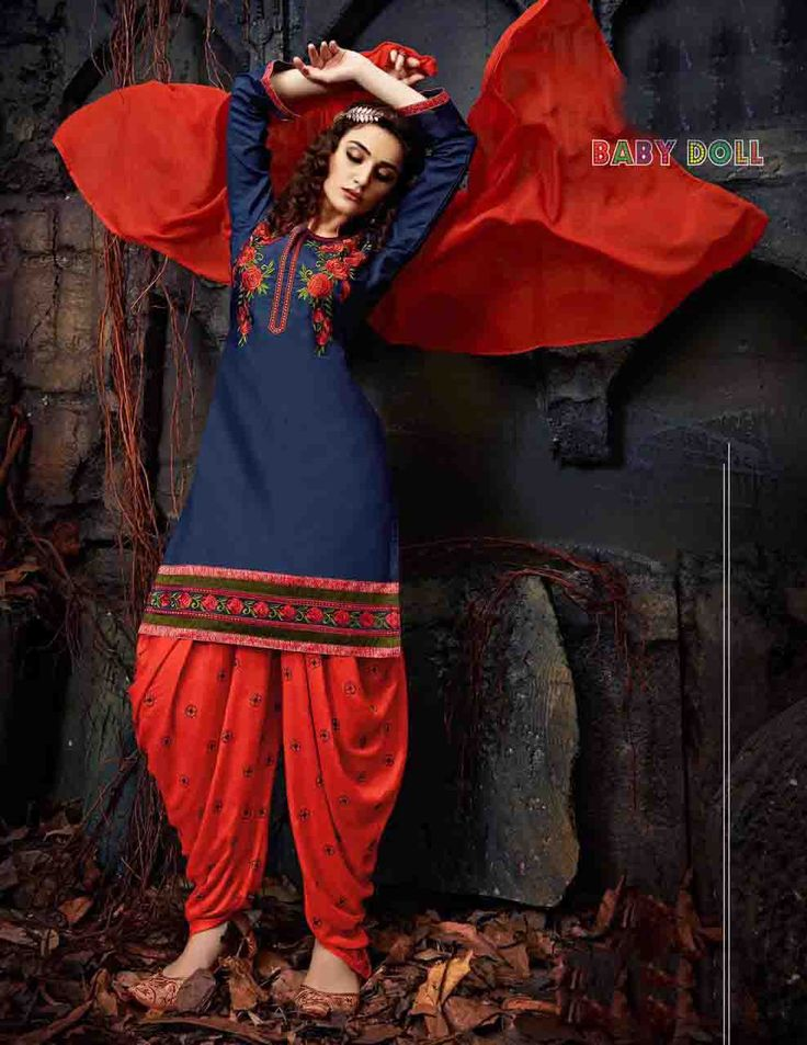 http://www.thatsend.com/shopping/lp/fvp/TESG234142/i/TE305100/iu/blue-cotton-patiala-salwar-kameez  Blue Cotton Patiala Salwar Kameez Apparel Pattern Embroidered. Stiching Type Unstitched. Work Embroidery. Bottom Color Red. Dupatta Work Border Lace.