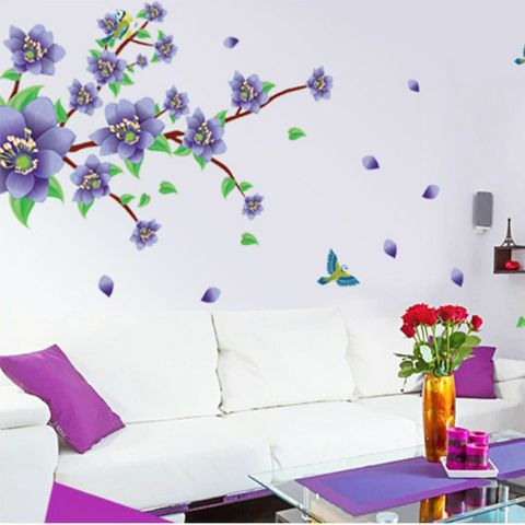 Romantic Purple Flowers