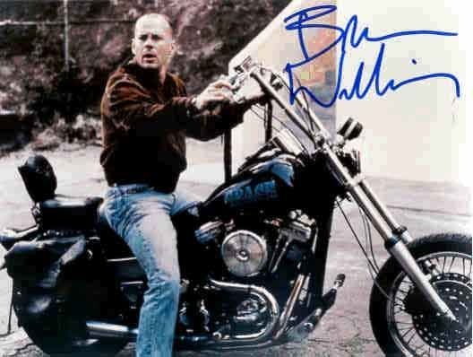 Bruce Willis And Harley Davidson Quot Who S Motorcycle Is